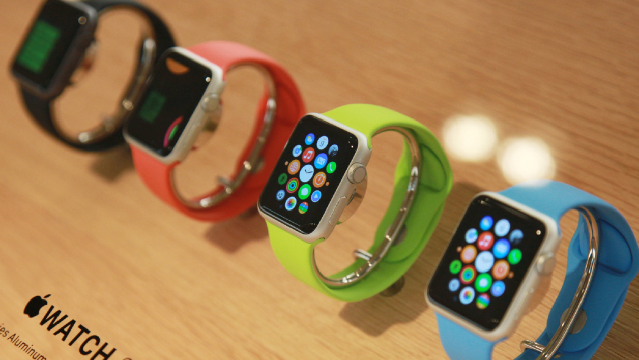 Le modèle sport de l'Apple Watch