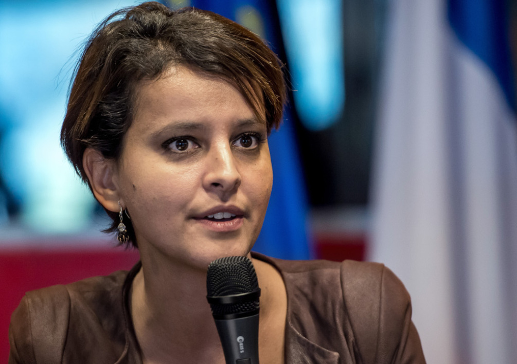 Najat Vallaud Belkacem, ministre de l'Education nationale, le 3 octobre 2014.