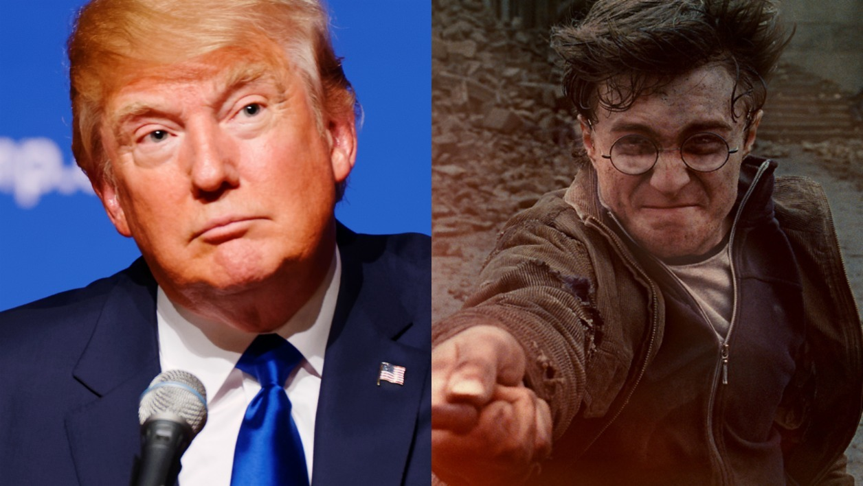 Plus on lit Harry Potter, plus on déteste Donald Trump