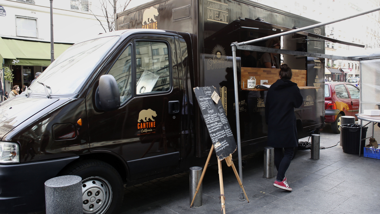 Le food truck débarque en France