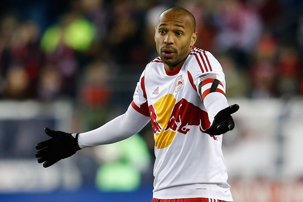 Thierry Henry sous le maillot des New York Red Bulls