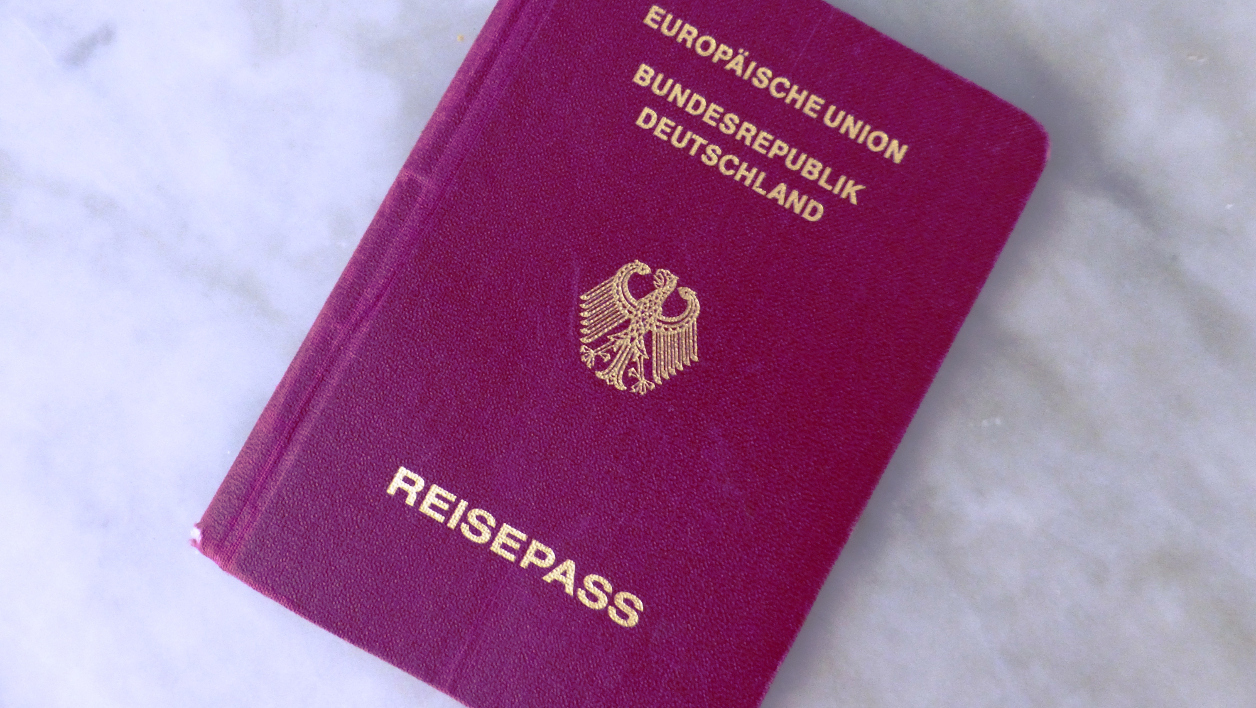Un passeport allemand, image d'illustration.