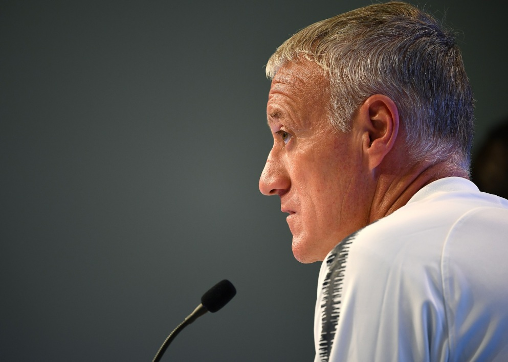 deschamps conf 050918 AFP.jpg