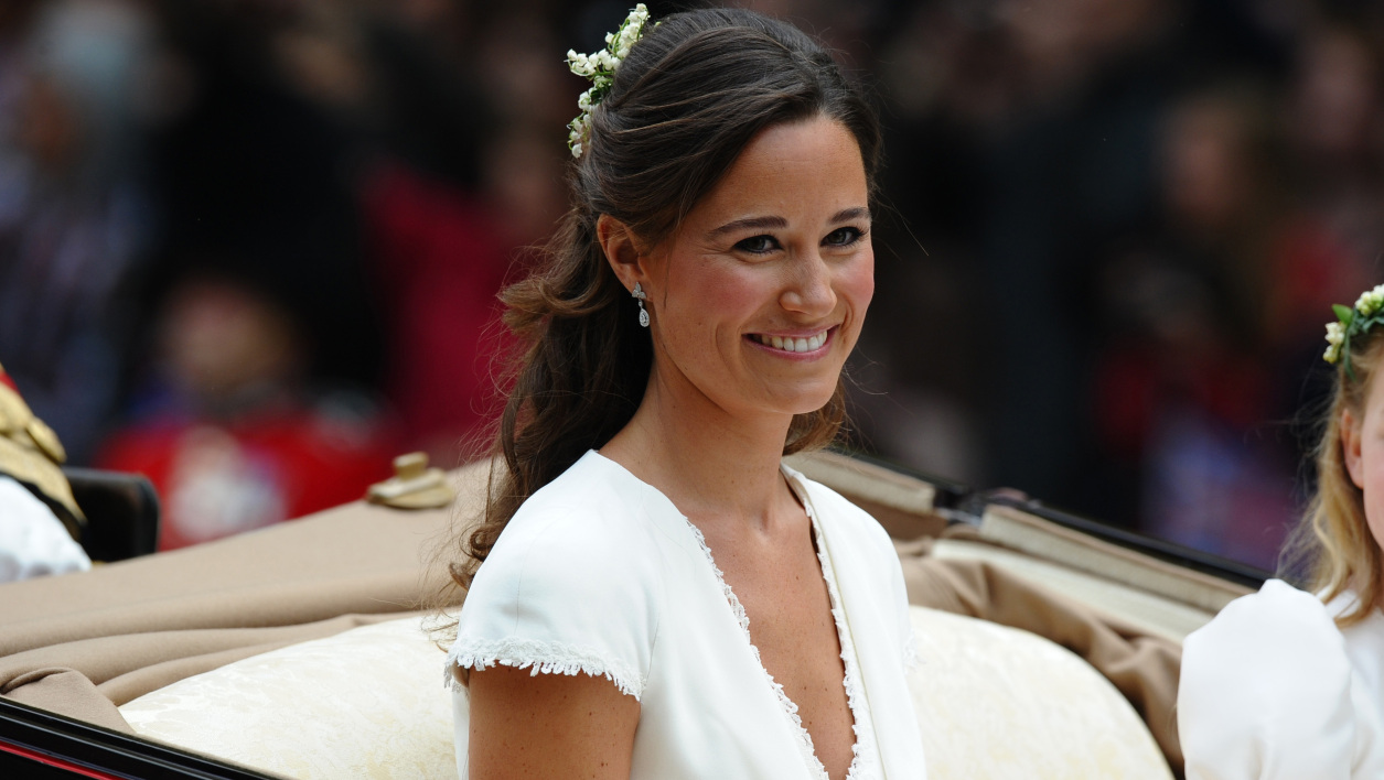 Pippa Middleton lors du mariage de Kate et William en 2011