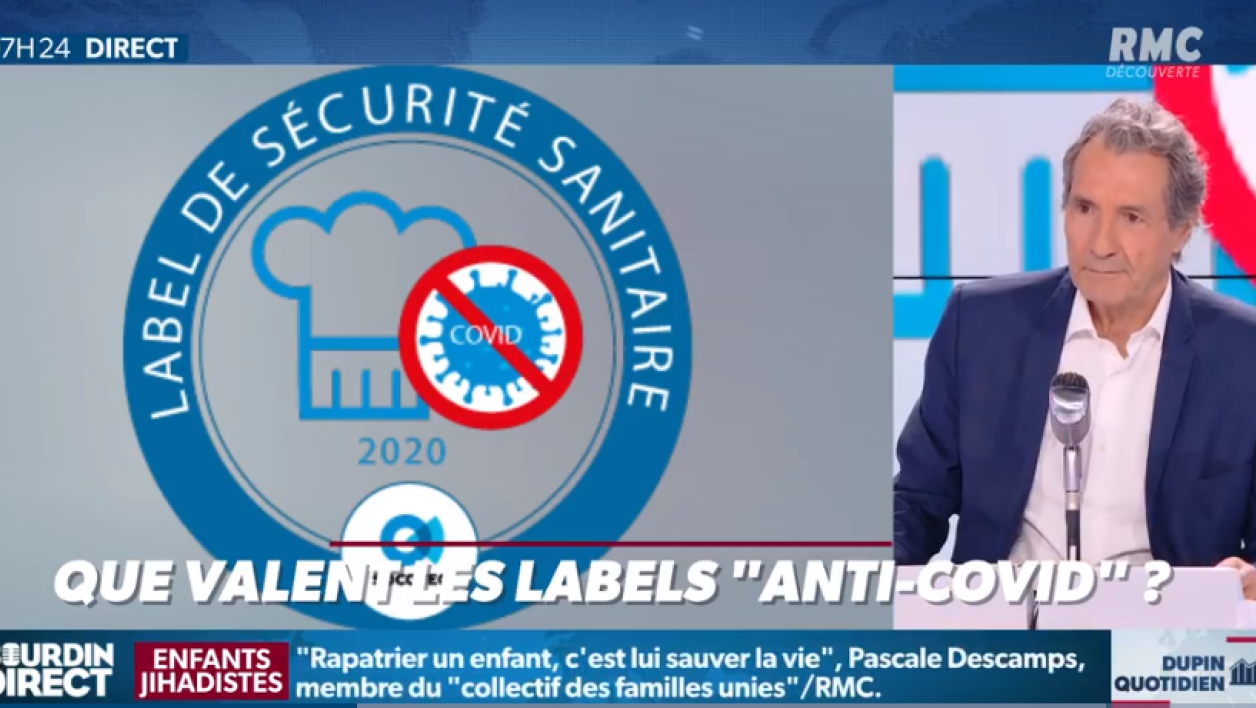"Hôtels, restaurants, bars... Que valent les labels ""anti-Covid 19""?"