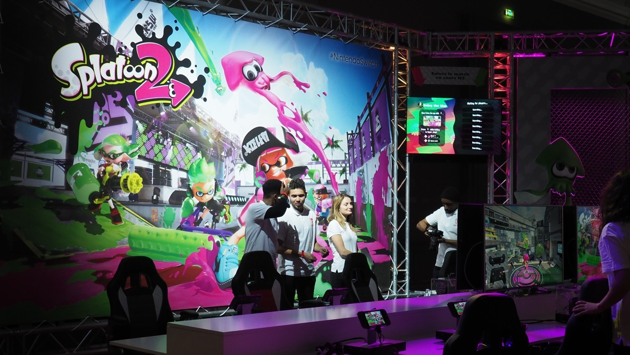 Splatoon 2, sur la Switch de Nintendo