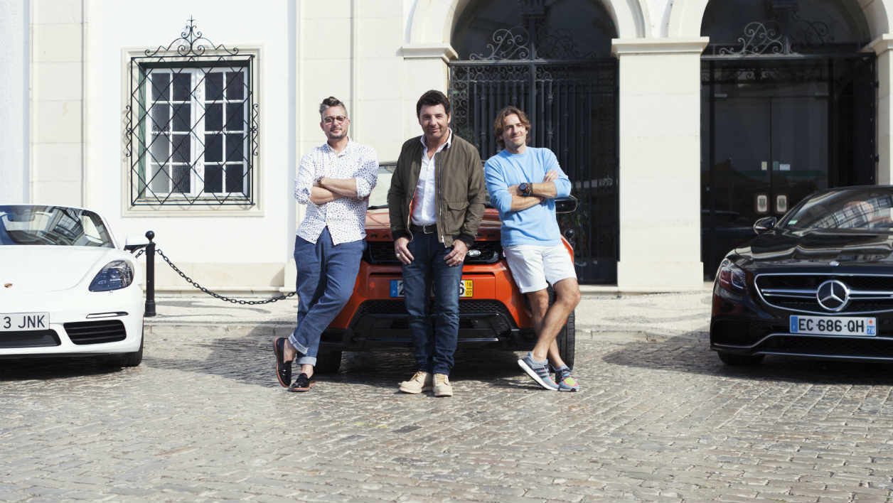 top gear france en route pour une saison 4. Black Bedroom Furniture Sets. Home Design Ideas