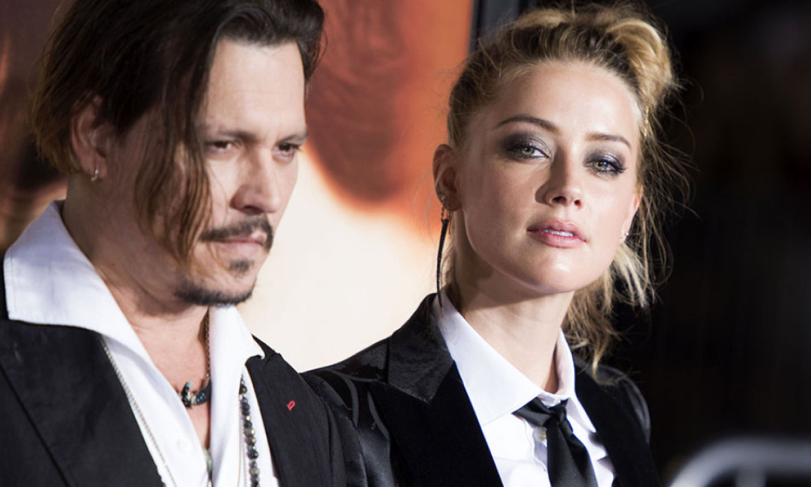 Amber Heard et Johnny Depp, le 21 novembre à Los Angeles