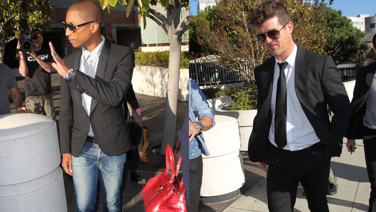 Pharrell Williams et Robin Thicke
