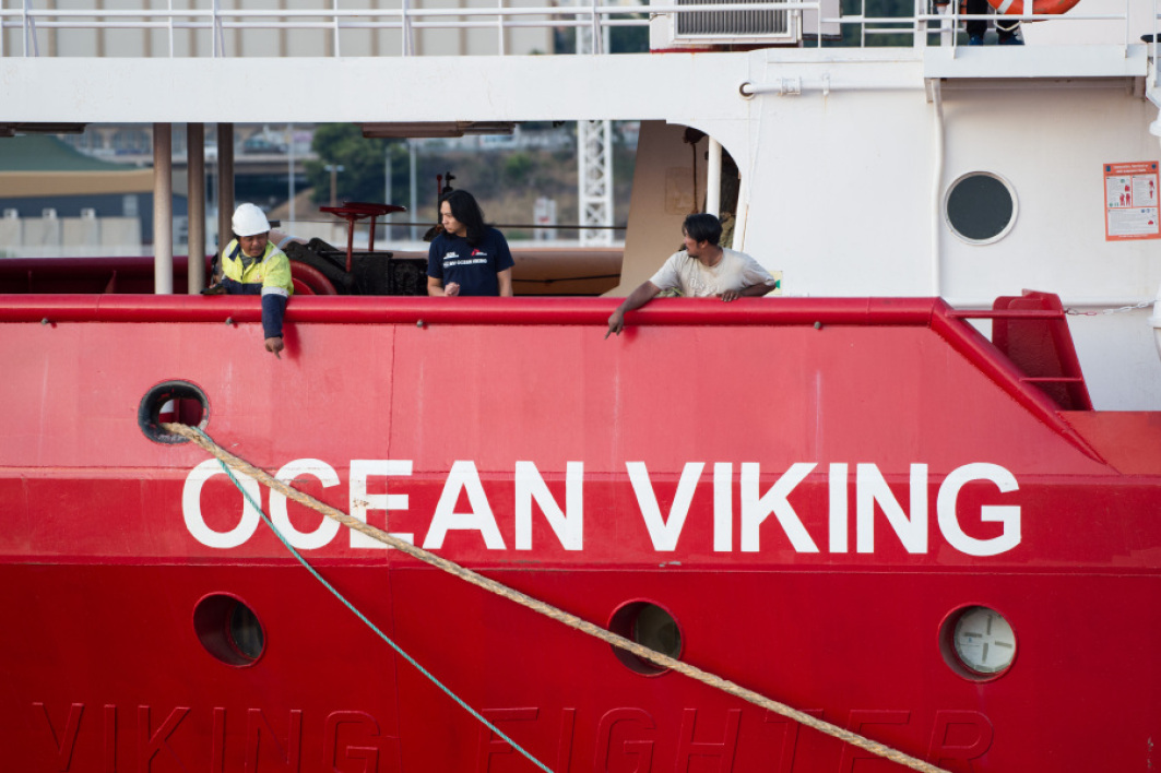 Plus de 170 migrants secourus par l'Ocean Viking en deux jours au large de la Libye