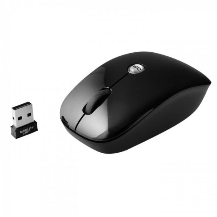 Mobility Lab Pure Black Wireless Optical Mouse