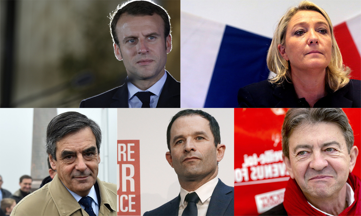 Installation du duel Macron / Le Pen — Intentions de vote