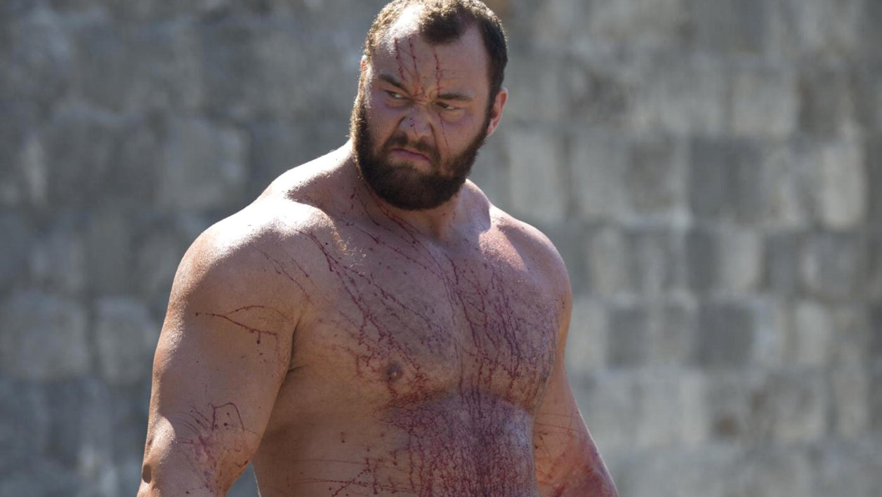 Thor Björnsson (La Montagne) devient l'homme le plus fort du monde — Game of Thrones