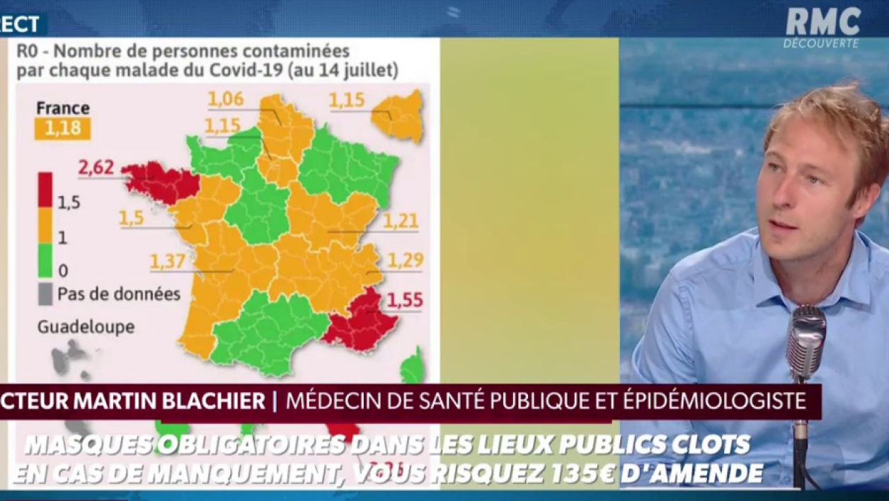 """Il faut casser la circulation du virus le plus vite possible"": l'appel d'un épidémiologiste sur RMC"