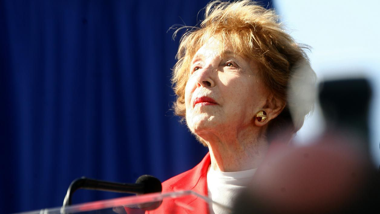 Nancy Reagan, en 2011.