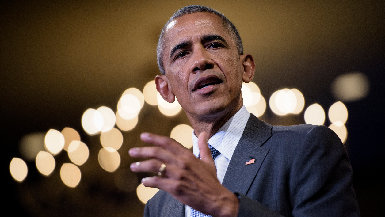 US President Barack Obama speaks at the Presidential Summit of the Mandela Washington Fellowship for Young African Leaders at the Omni Shoreham Hotel August 3, 2016 in Washington, DC.  Brendan Smialowski / AFP