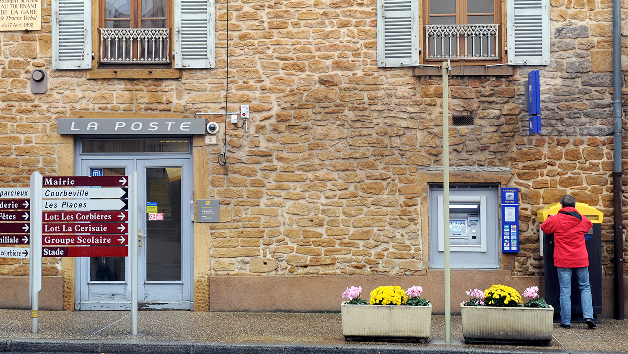 Un bureau de Poste, dans un village. (Photo d'illustration).