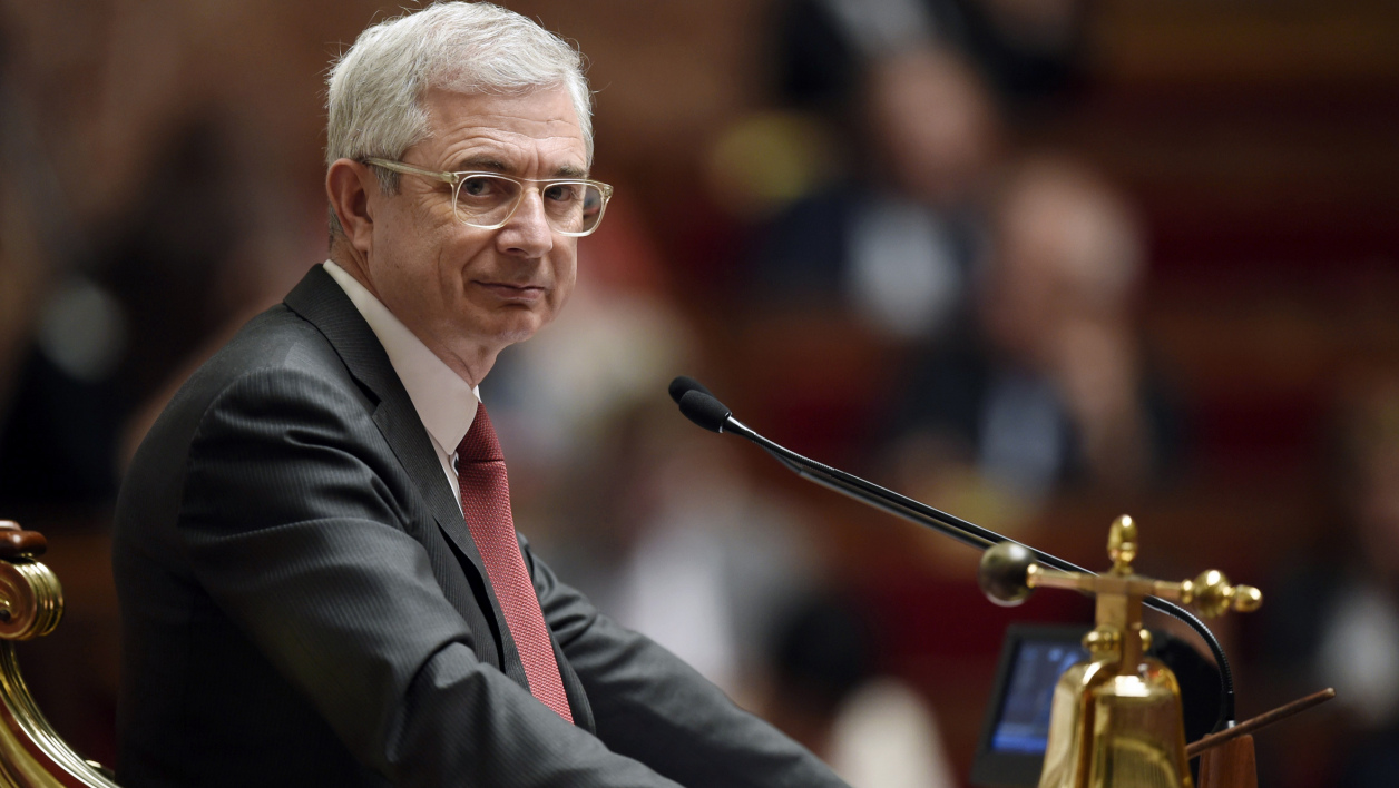 Claude Bartolone à l'Assemblée nationale, le 14 avril 2015.
