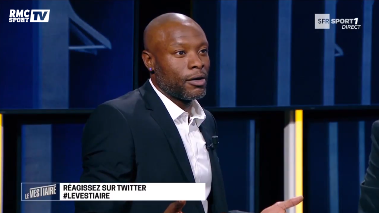 William Gallas dans Le Vestiaire
