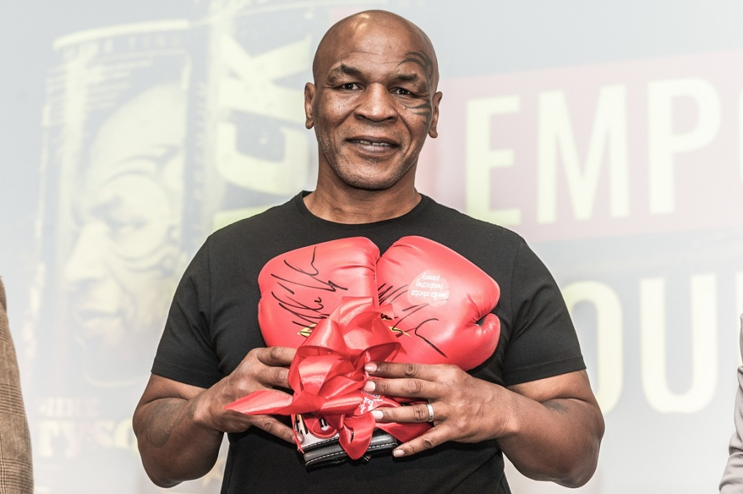 Mike Tyson.
