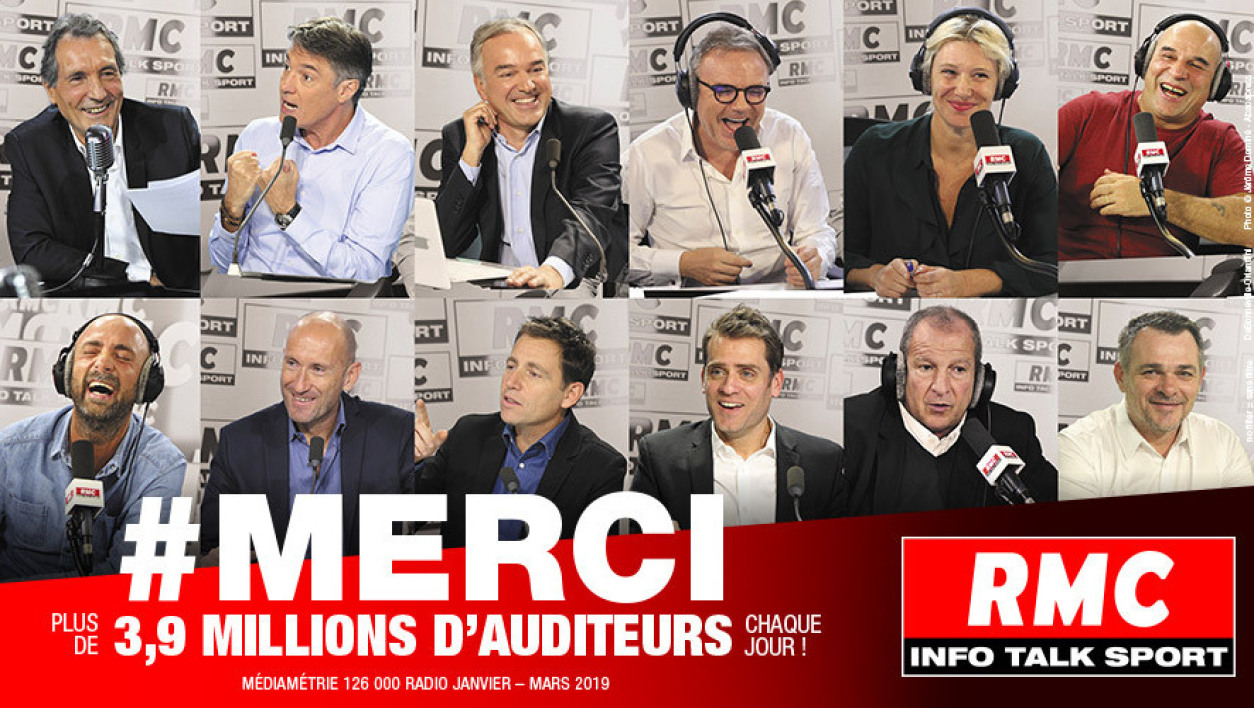 AUDIENCES RADIO - RMC 1ère radio privée de France sur le digital