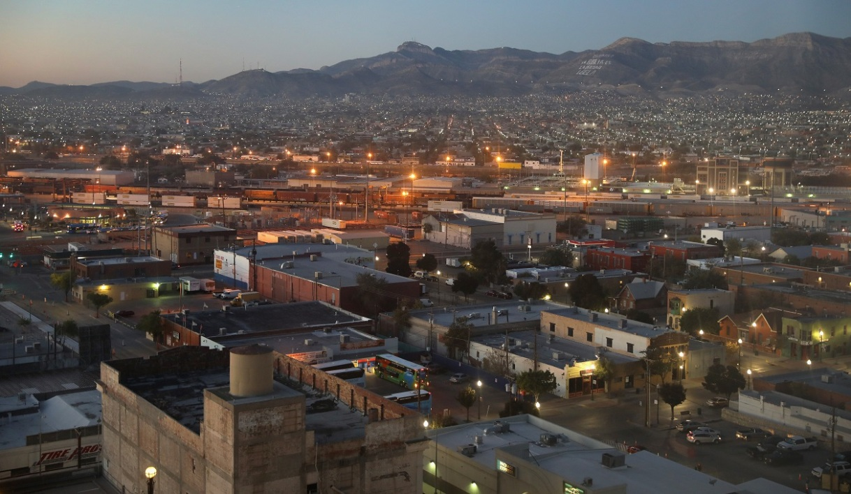 La ville mexicaine de Ciudad Juarez, vue depuis le Texas, le 14 octobre 2016. (Photo d'illustration)