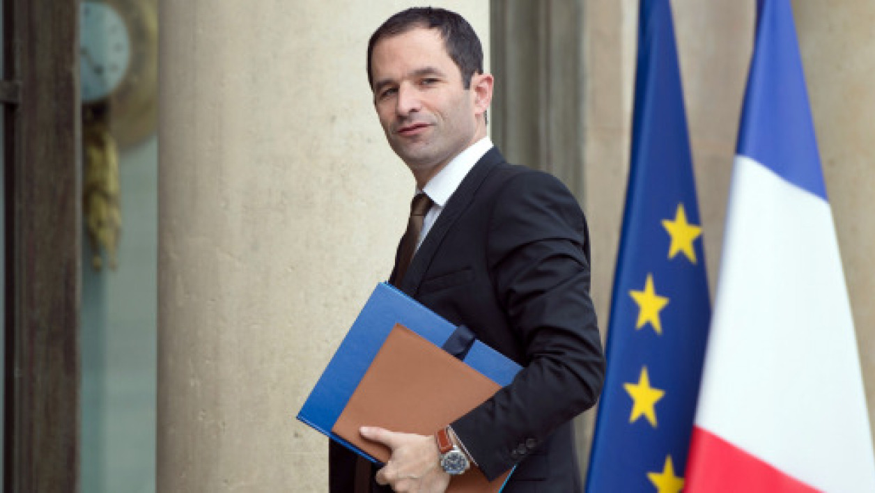 Benoît Hamon a officialisé sa candidature à la primaire de gauche (photo d'illustration)