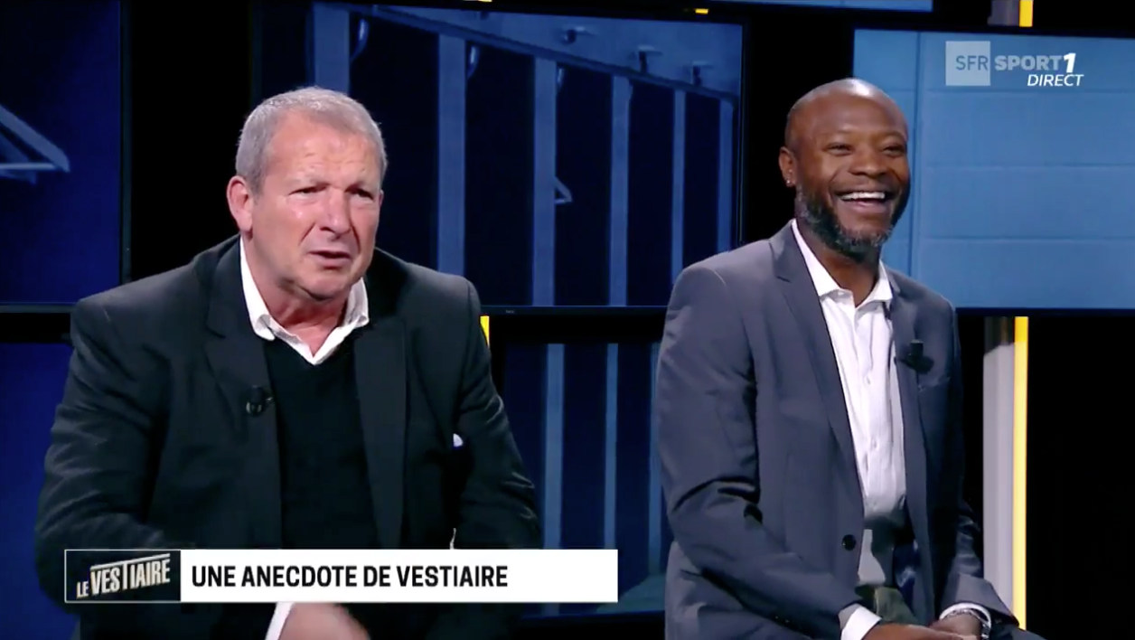 Rolland Courbis et William Gallas