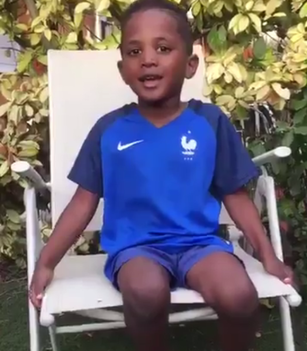 Euro 2016, finale Portugal-France : le message touchant du fils de Sissoko