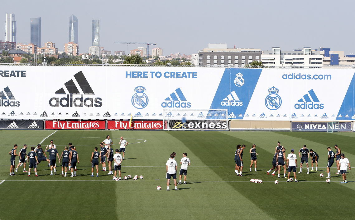 Le centre d'entraînement du Real Madrid