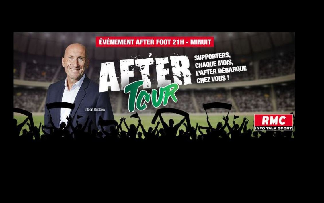 "EVENEMENT RMC - ""L'After Foot"" part à la rencontre des supporters avec l'""After Tour"""