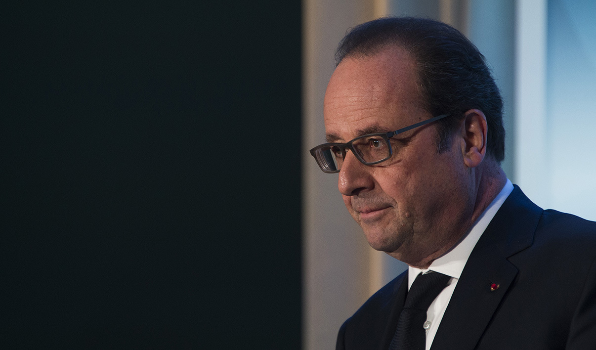 François Hollande le 1er avril 2016 à Washington.