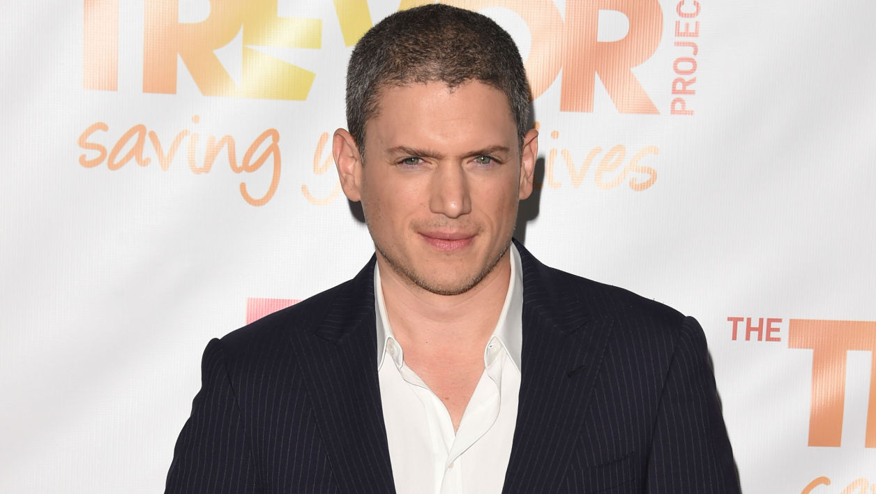 Wentworth Miller à Los Angeles en 2014