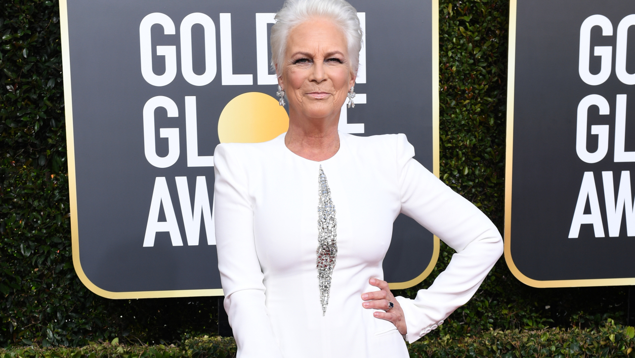 Jamie Lee Curtis aux Golden Globes