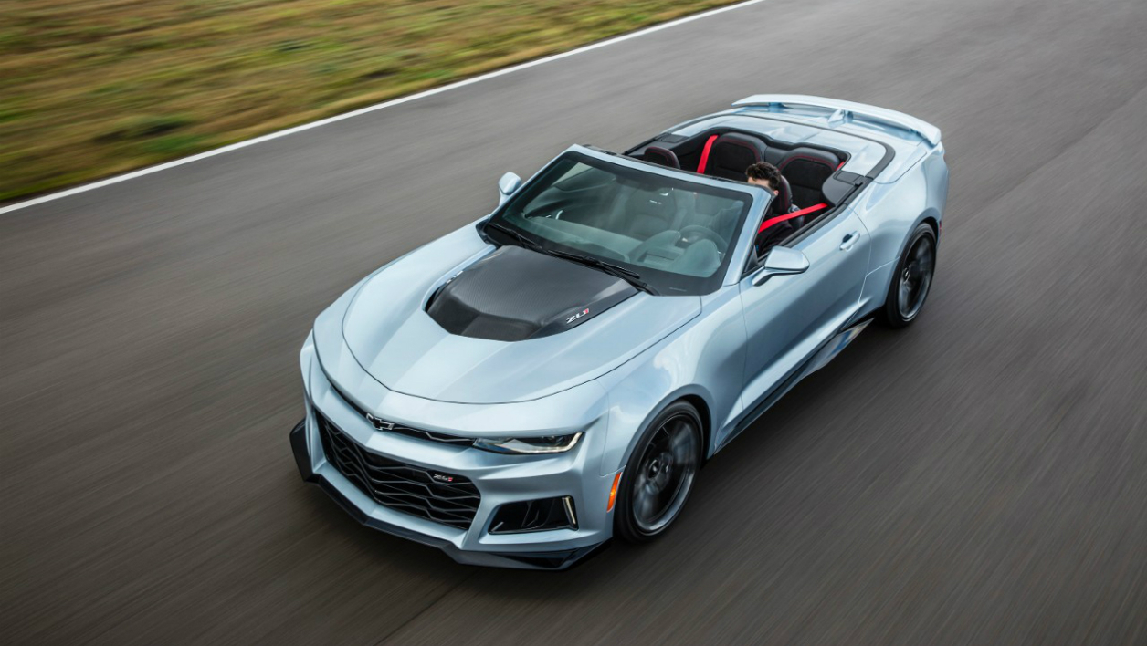 New York 2016: la Camaro ZL1... décapotable