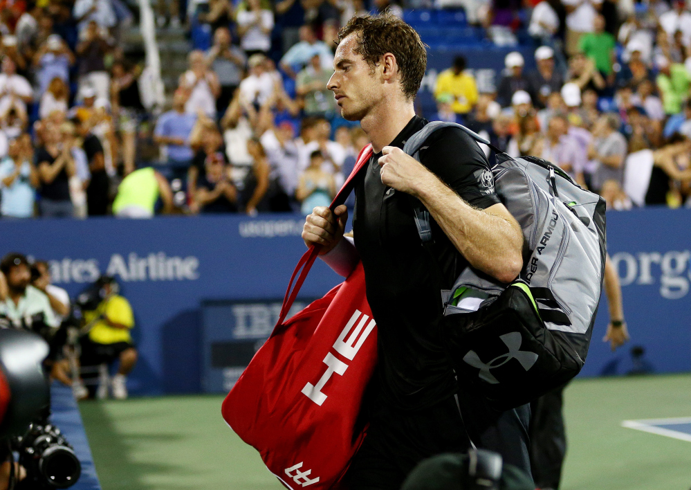 US Open: fin de série pour Murray