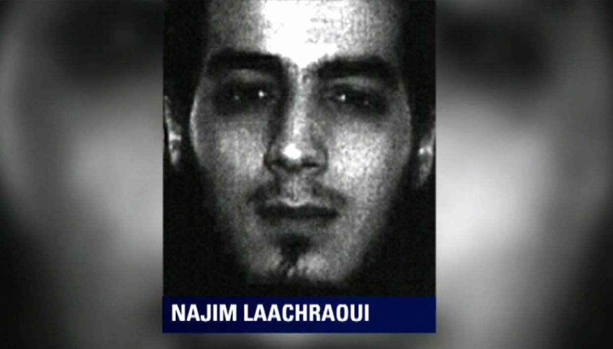 (FILES) This handout file picture released on December 4, 2015 by the Belgian police shows Najim Laachraoui, who used fake identity documents bearing the name Soufiane Kayal, and who is being searched for by the Belgian police as part of the investigation into the November 13 Paris attacks. Belgian prosecutors identified on March 21, 2016 a new accomplice in last year's deadly Paris attacks as 24-year-old Najim Laachraoui, until now known by his false name of Soufiane Kayal.