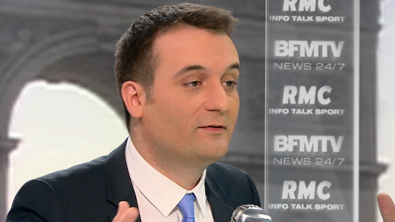 Florian Philippot face à Jean-Jacques Bourdin: le récit de l'interview en tweets et en images