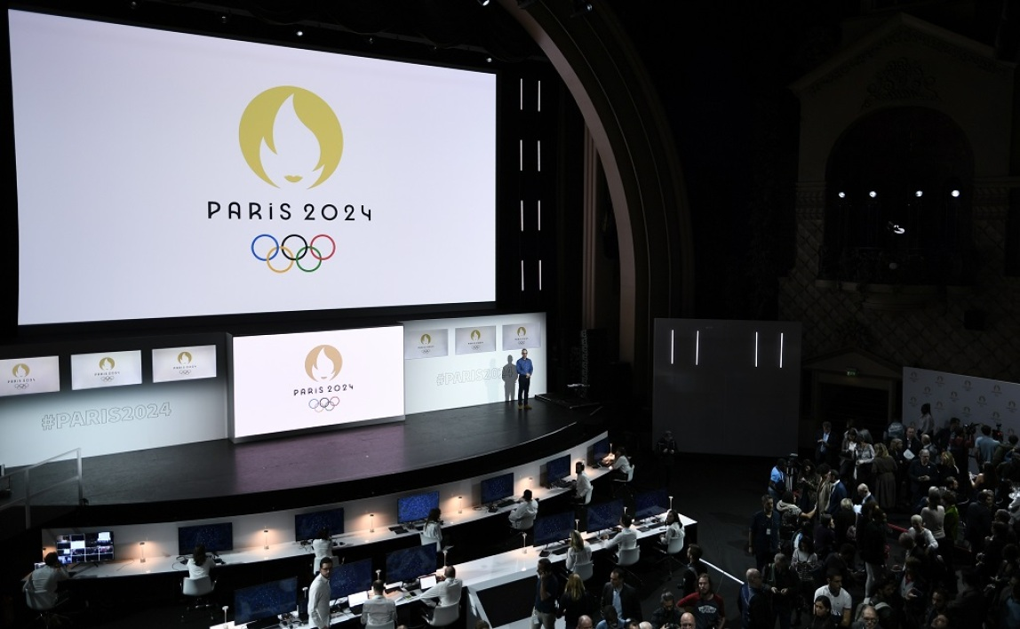 Le logo de Paris 2024