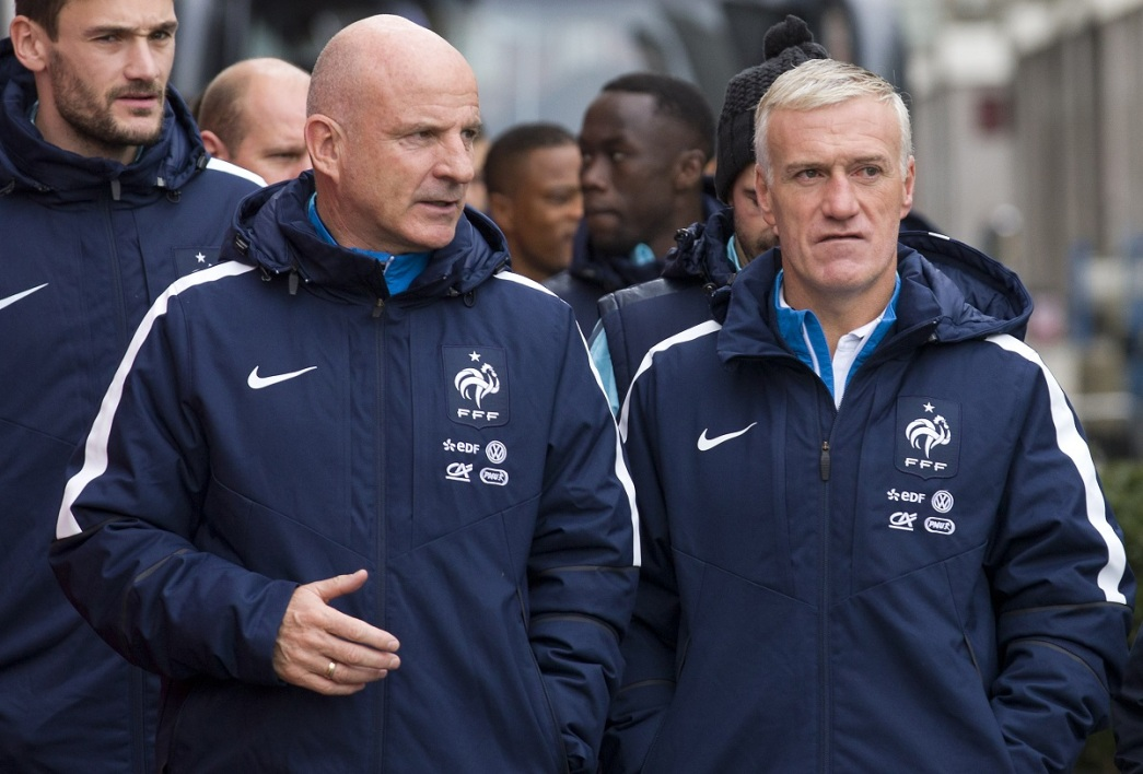 Guy Stephan et Didier Deschamps