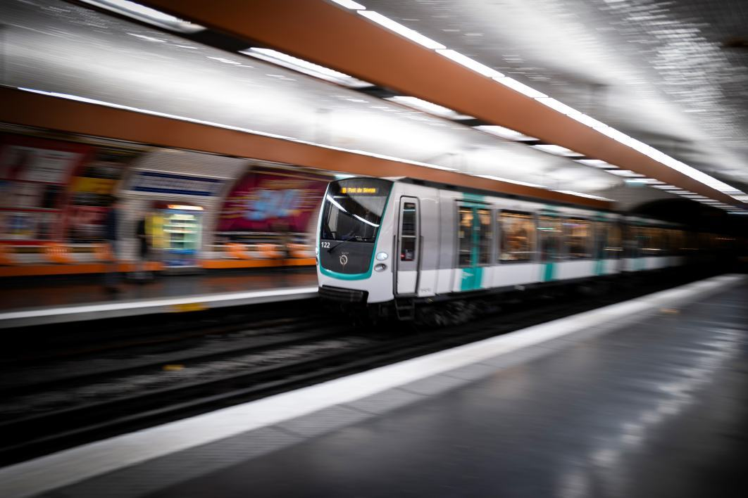 Un métro parisien (photo d'illustration)