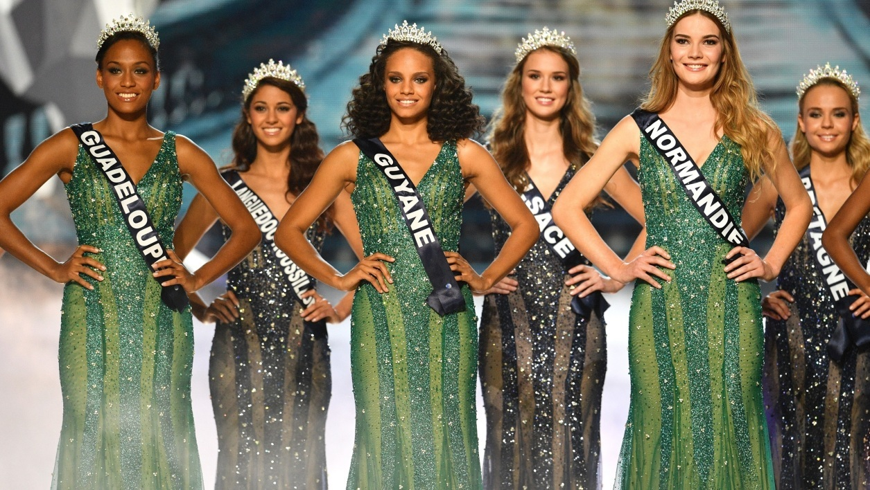 L'élection Miss France 2017 en décembre 2016.