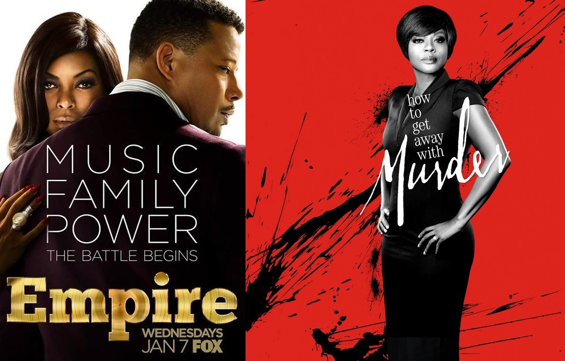 Empire et How to Get Away With Murder - DR