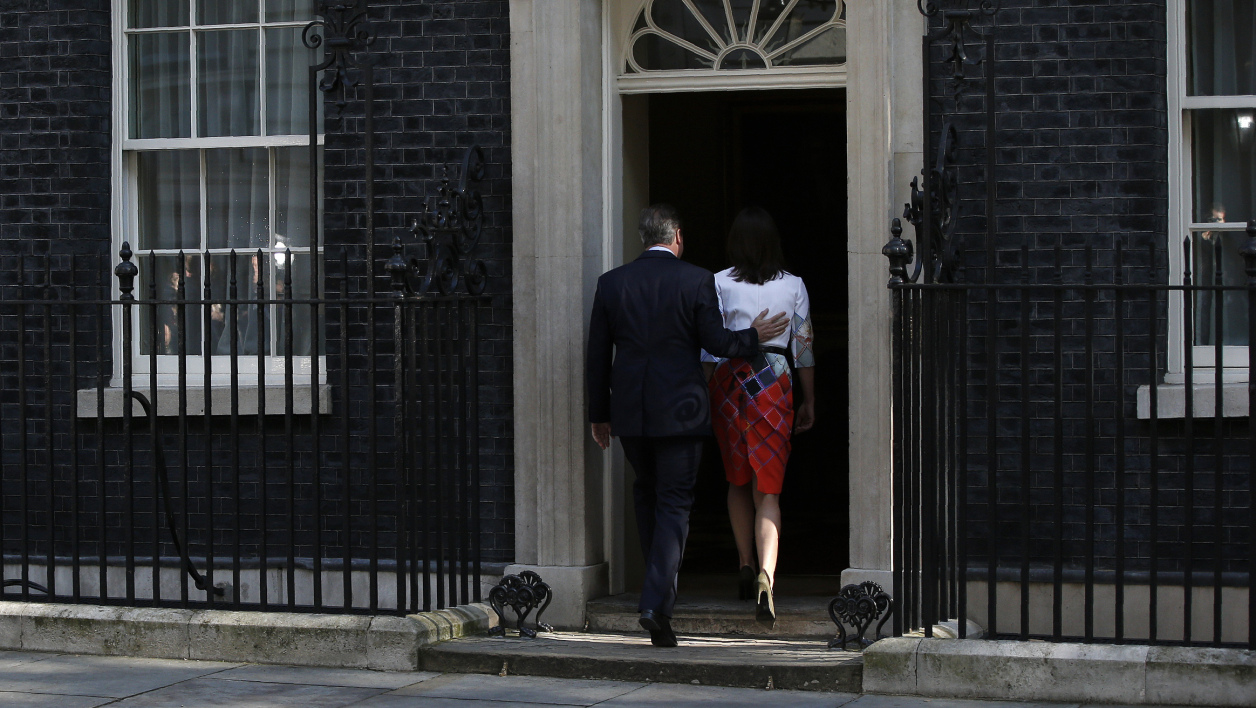 David Cameron quittera le 10, Downing Street le 9 septembre prochain.