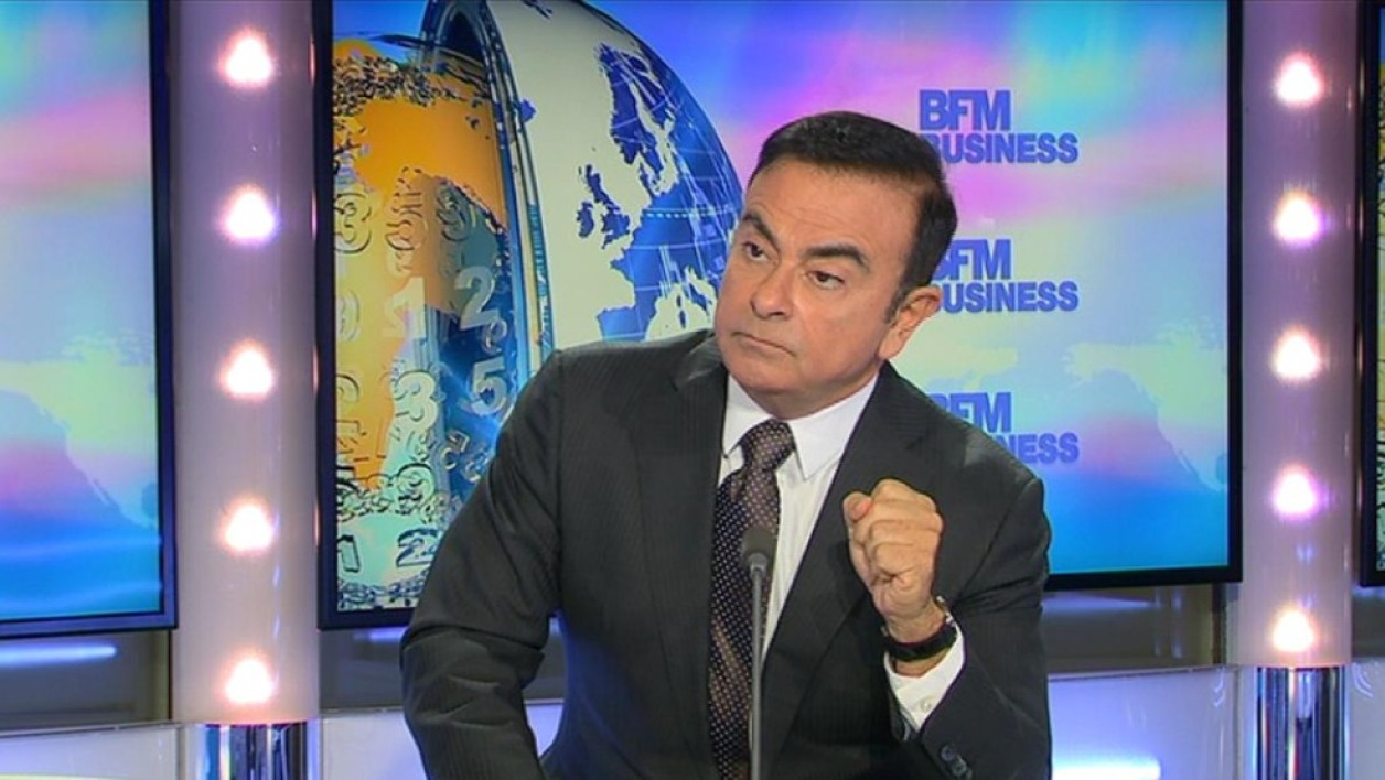 Carlos Ghosn, patron de Renault-Nissan, sera l'invité en direct à 7h15 de Good Morning Business vendredi 30 septembre .