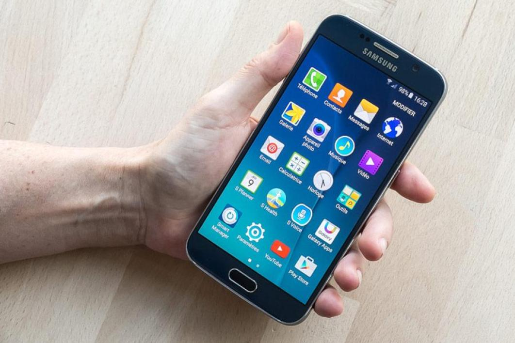 Samsung galaxy s6 le test complet for Samsung photo ecran