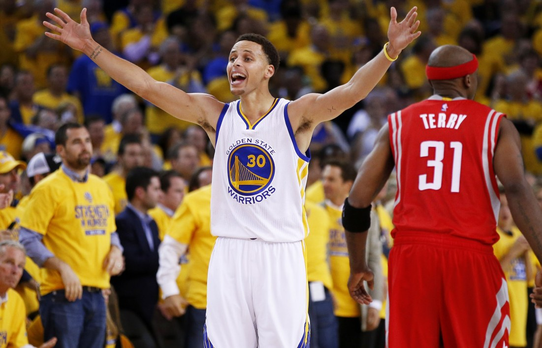 NBA : Curry trop fort pour Houston