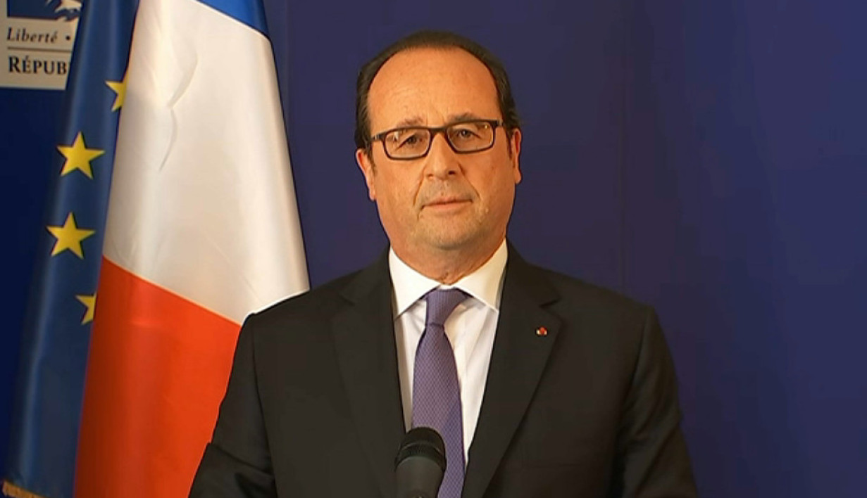 François Hollande le 15/07/16