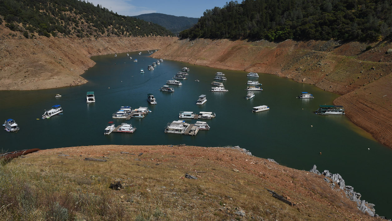 Le réservoir du barrage d'Oroville, en Californie, menace de déborder après des fortes pluies. (photo d'illustration)