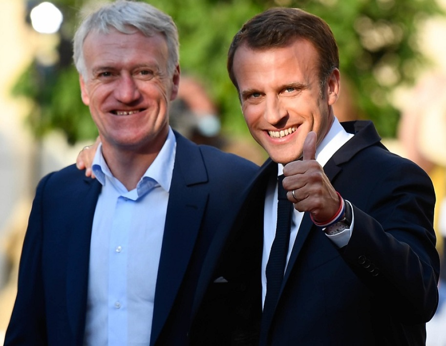 Deschamps Macron